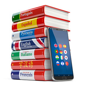 Stack of Bi-lingual Dictionary